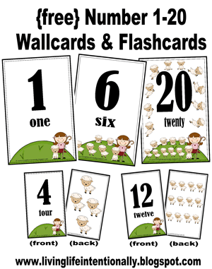 Delicate image for printable numbers 1 20 flashcards