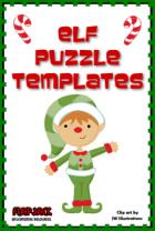 Free Elf Puzzle Templates