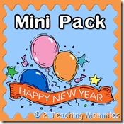 Free New Year Printable Pack + New Year's Day Interview