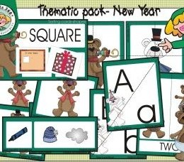 Free New Year Thematic Pack {24-Pages}