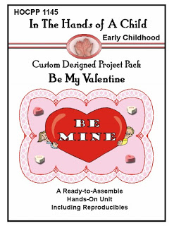 Free Valentine's Day Lapbook Project Packs