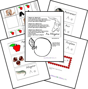 Free Alphabet Lapbook and Notebook {Lap~n~Note}