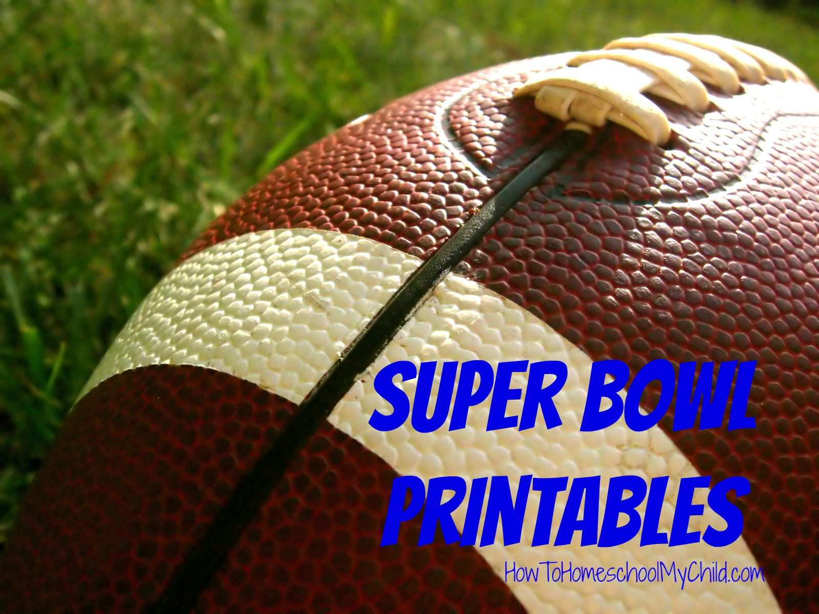 Free Super Bowl Activities Printables Amp Activity Guide