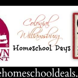 Colonial Williamsburg Winter Homeschool Days 2/16-2/24