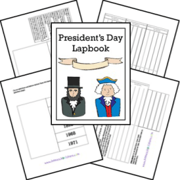 Free President's Day Lapbook