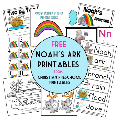 Bewitching image in free printable pictures of noah's ark