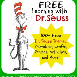 Learning with Dr. Seuss: 100+ Free Dr. Seuss Themed Printables, Crafts, Recipes, and Activities