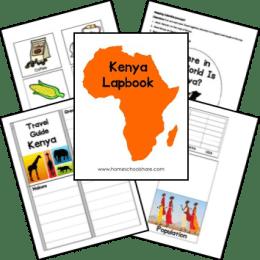 Free Africa Unit Studies and Lapbooks