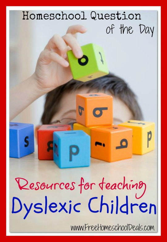 teaching Dyslexic children