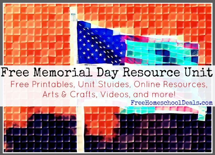 Free Memorial Day Resource Unit