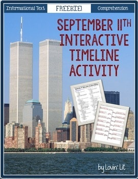 September 11th Interactive Timeline Activity