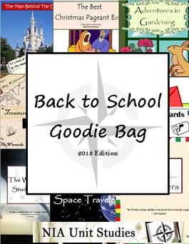 Free Unit Study Goodie Bag Download - including 5 unit studies!