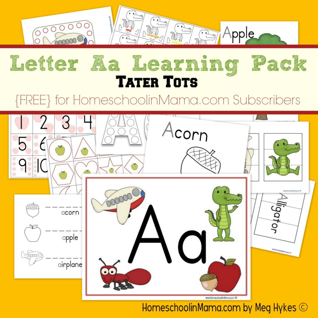 Writing Letter Aa Worksheet