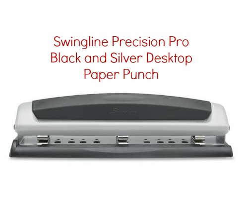swingline precision pro desktop punch instructions