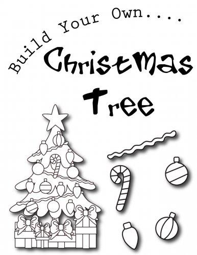 FREE: Build Your Own Christmas Tree Printable Set {coupon