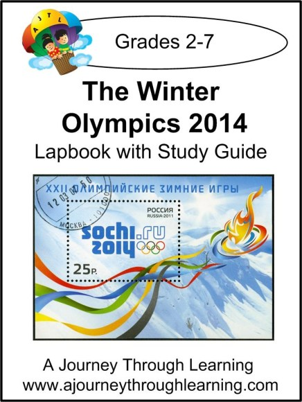 The Winter Olympics 2014 Lapbook with Study Guide