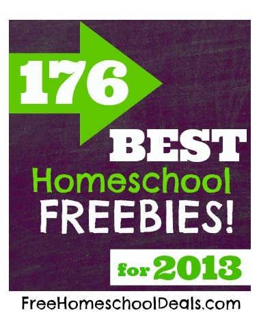 176 Best Homeschool Freebies More For 2013