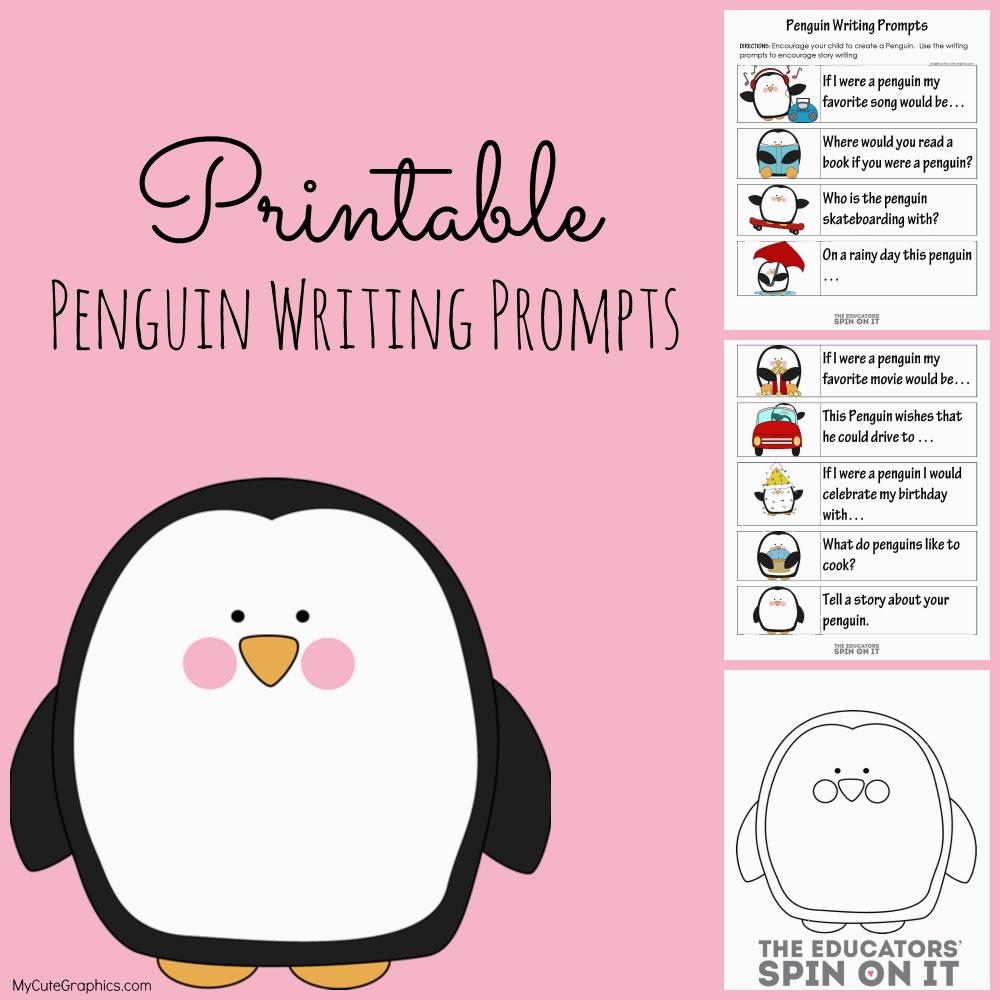 Free Pengu Writ G Prompts W Ksheets Free Homeschool De Ls ©