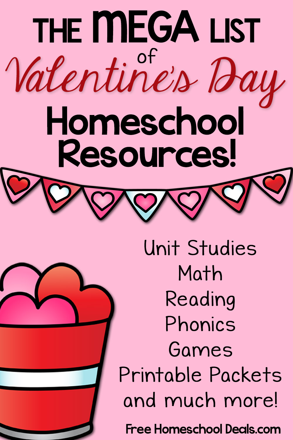 Valentines Day Learning Resources Unit Studies Coloring
