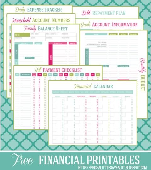 Free Financial Printables