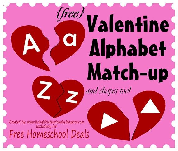 Valentine Match Up Puzzles