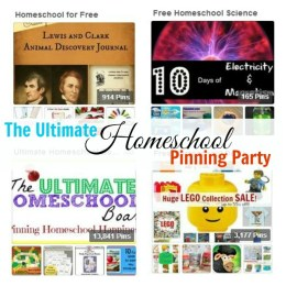 Pioneer Activities and Printables, Back Yard Science, and More: The Ultimate Homeschool Pinterest Party!