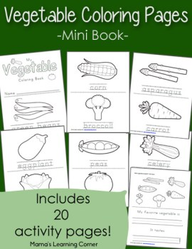 Vegetable-Coloring-Pages