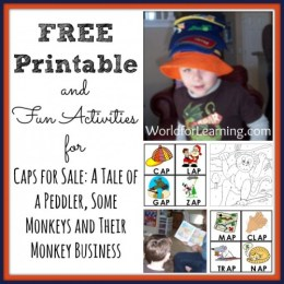 Caps for Sale: FREE Printable and Fun Activities