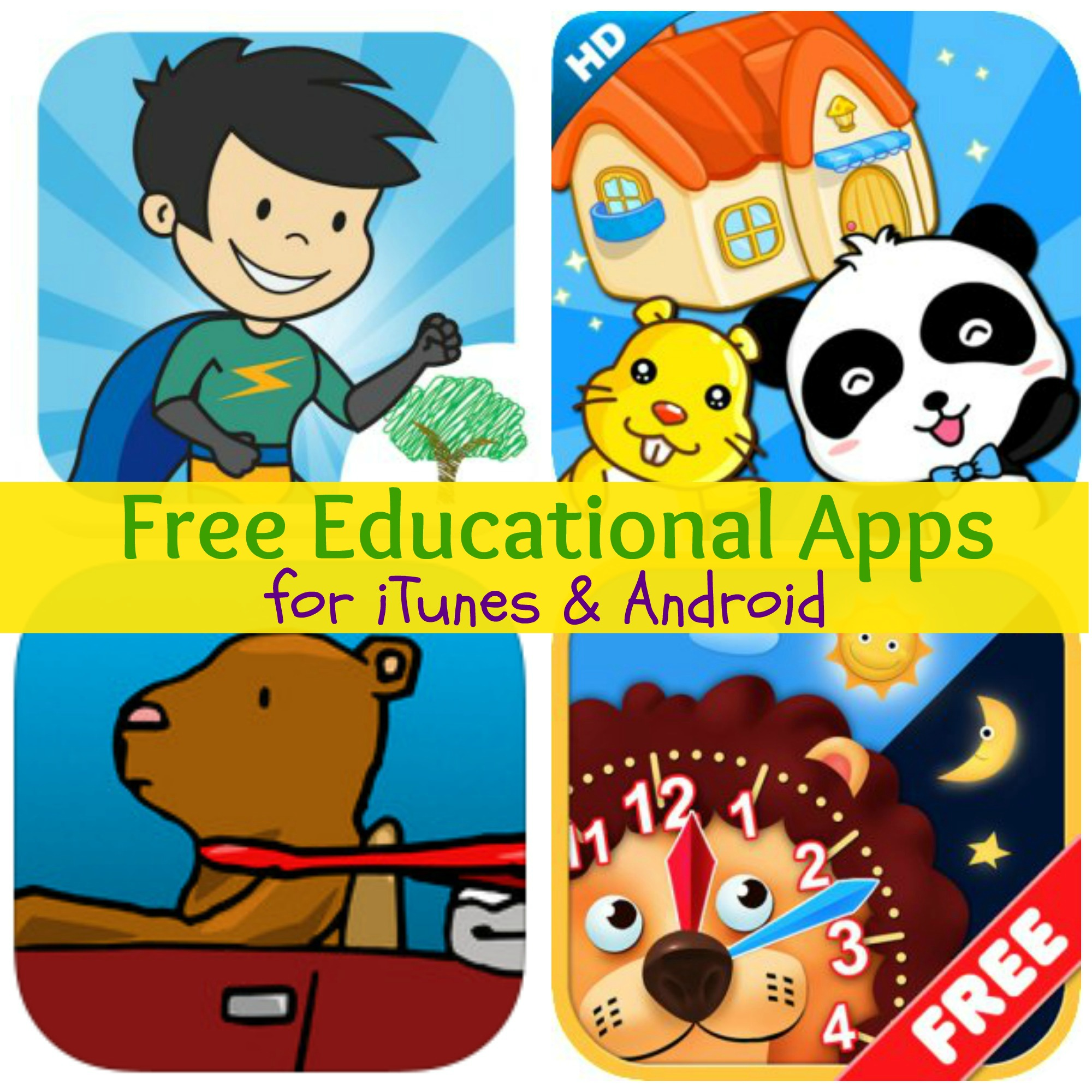Free Educational Apps For Itunes Amp Android Spelling Hero