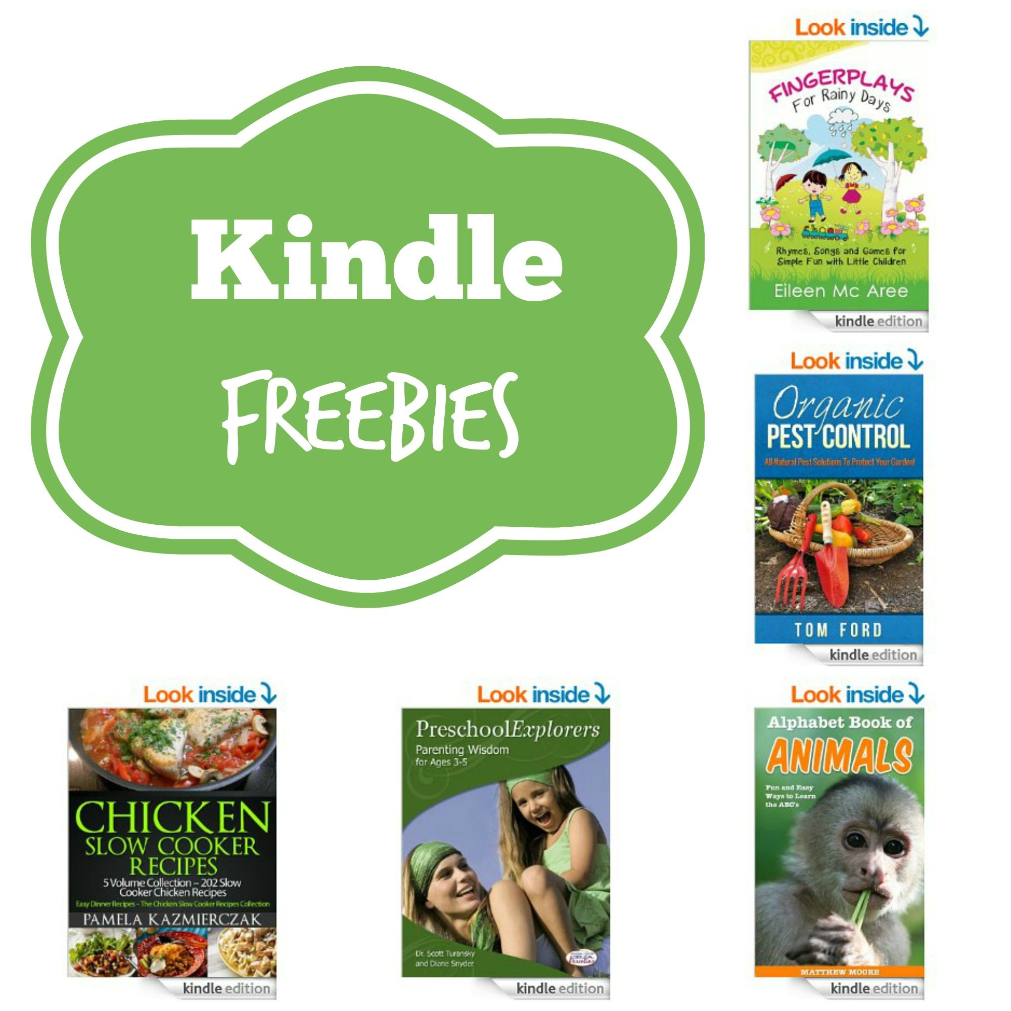14 Kindle Freebies Preschool Explorers Organic Pest