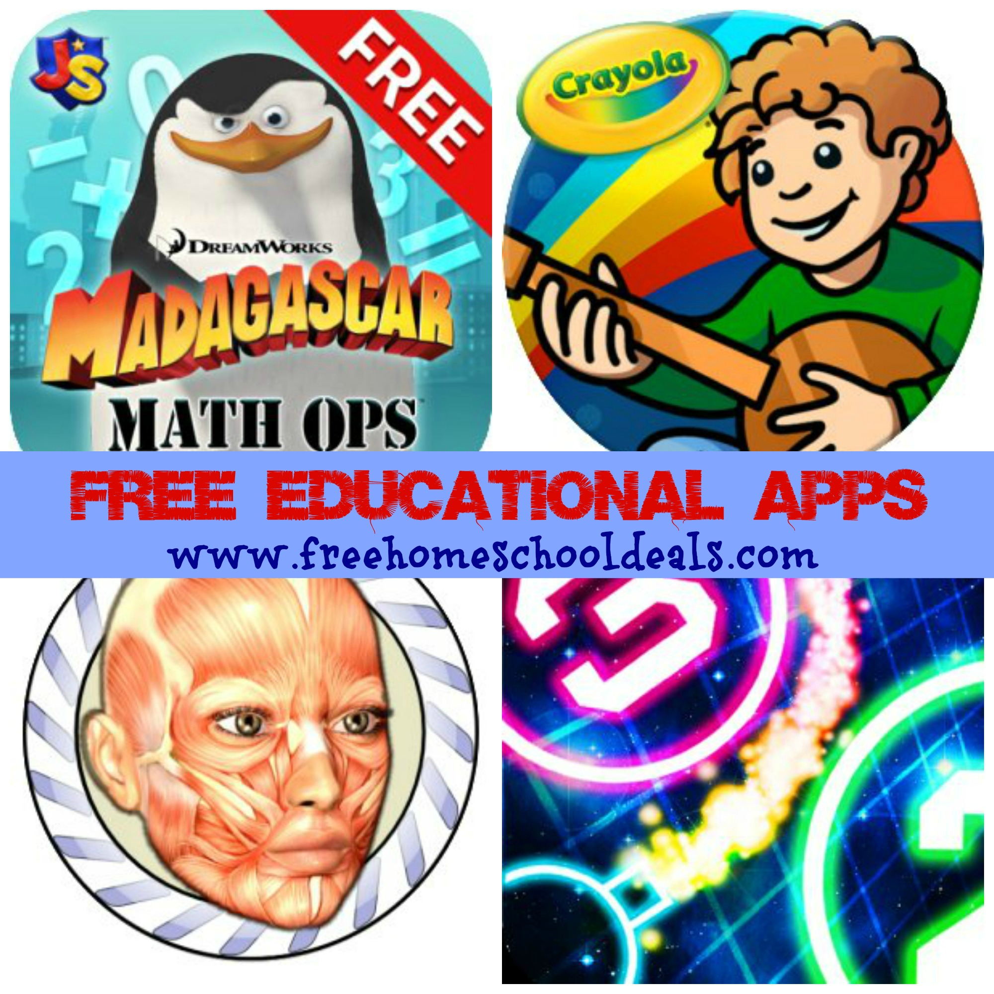 Free Educational Apps For Kids Speed Anatomy Madagascar Math Ops Amp More