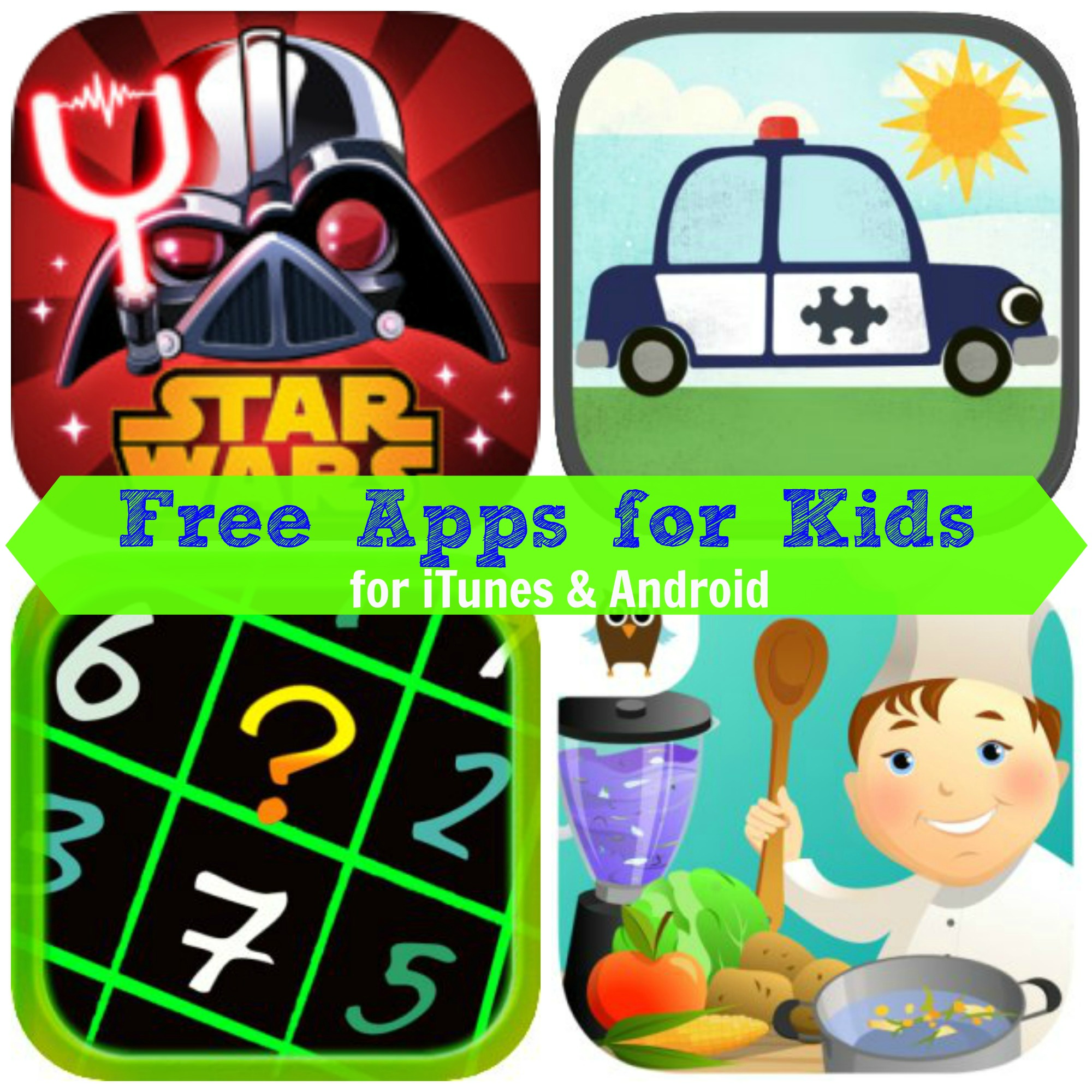Free Itunes Amp Android Apps For Kids Angry Birds Star Wars