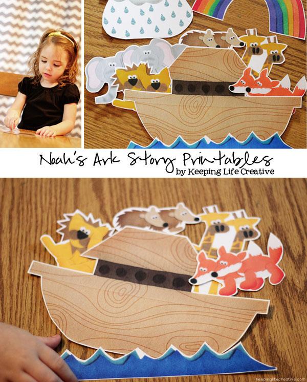 FREE Noah's Ark Storytelling Printables | Free Homeschool ...