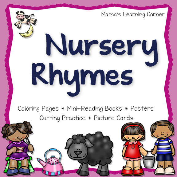 FREE Nursery Rhyme Printables Sampler Packs | Free Homeschool Deals ©