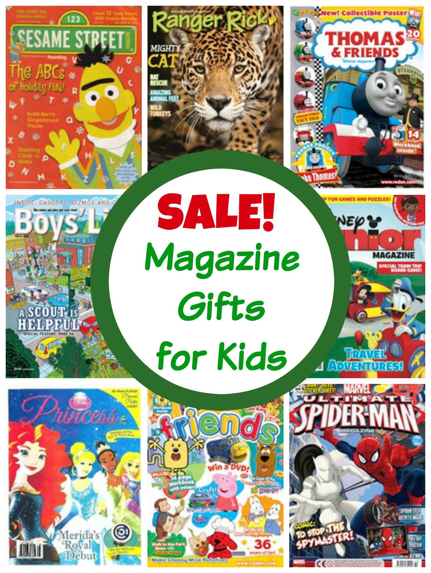 Huge Magazine Sale For Kids