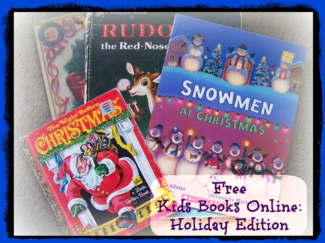 Free Holiday And Christmas Ebooks For Kids
