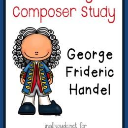 FREE George Frideric Handel Music Unit Study
