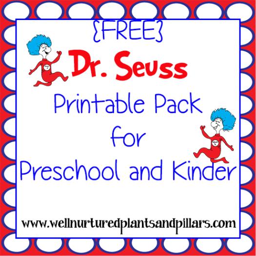Dr Seuss Worksheets For Preschool Beansmith