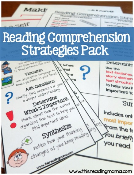 FREE Reading Comprehension Pack