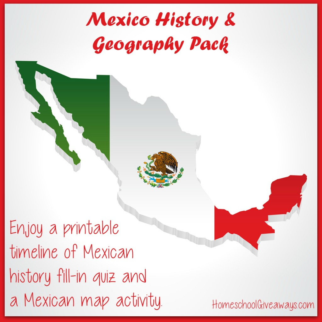 Free Mexico History And Geography Pack