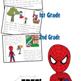 FREE Superhero Readers