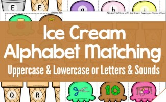 Ice Cream Activity Pack