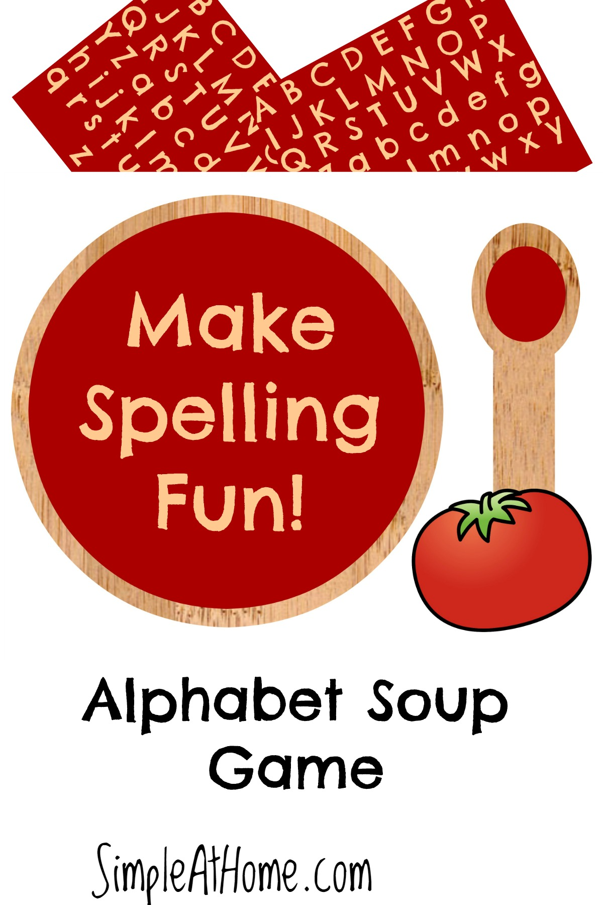Free Alphabet Soup Spelling Game