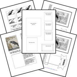 FREE Aesop's Fables Lapbook set