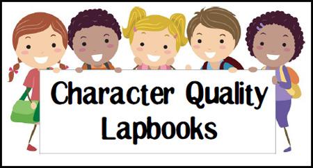 FREE Character Lapbooks