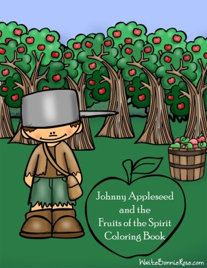 Free Johnny Appleseed & the Fruits of the Spirit Coloring Book