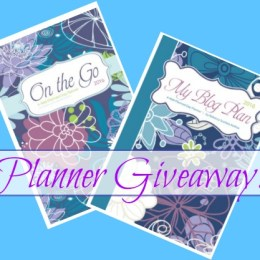 GIVEAWAY! 10 My Blog Planners + 10 On The Go Planners! WIN!!