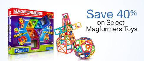 40% Off Magformers Toys - Today Only!