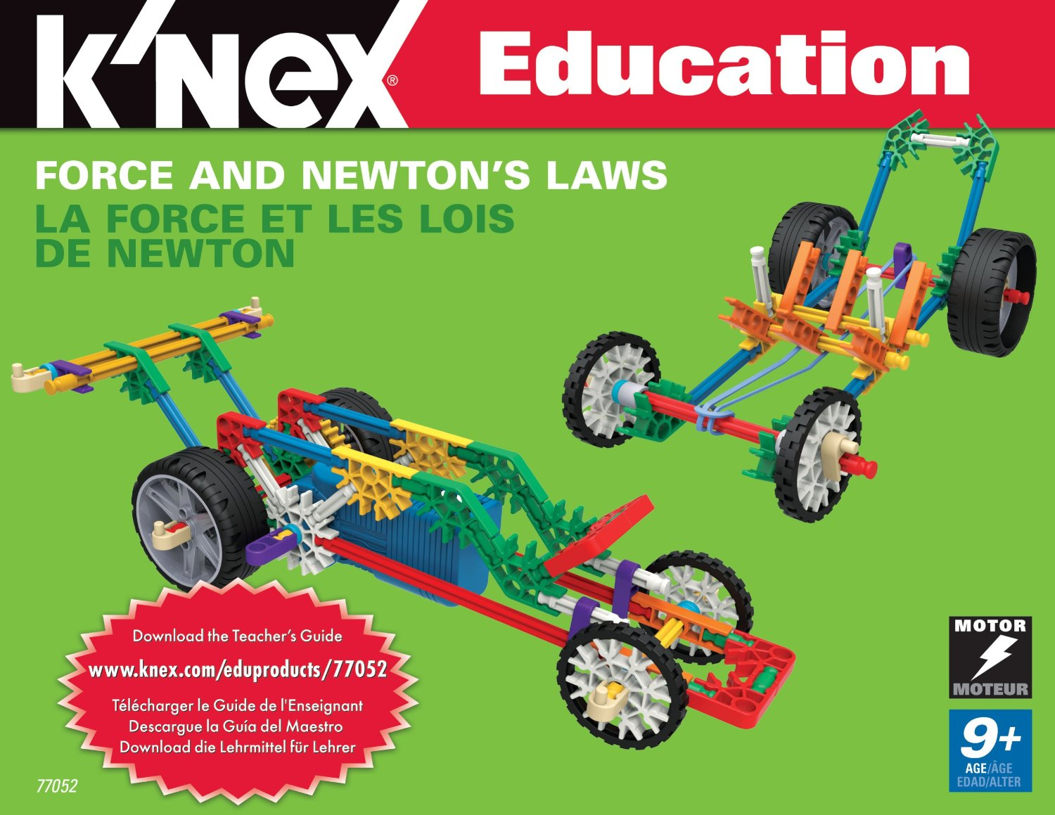 K Nex Education Force And Newton S Laws Only 44 Reg
