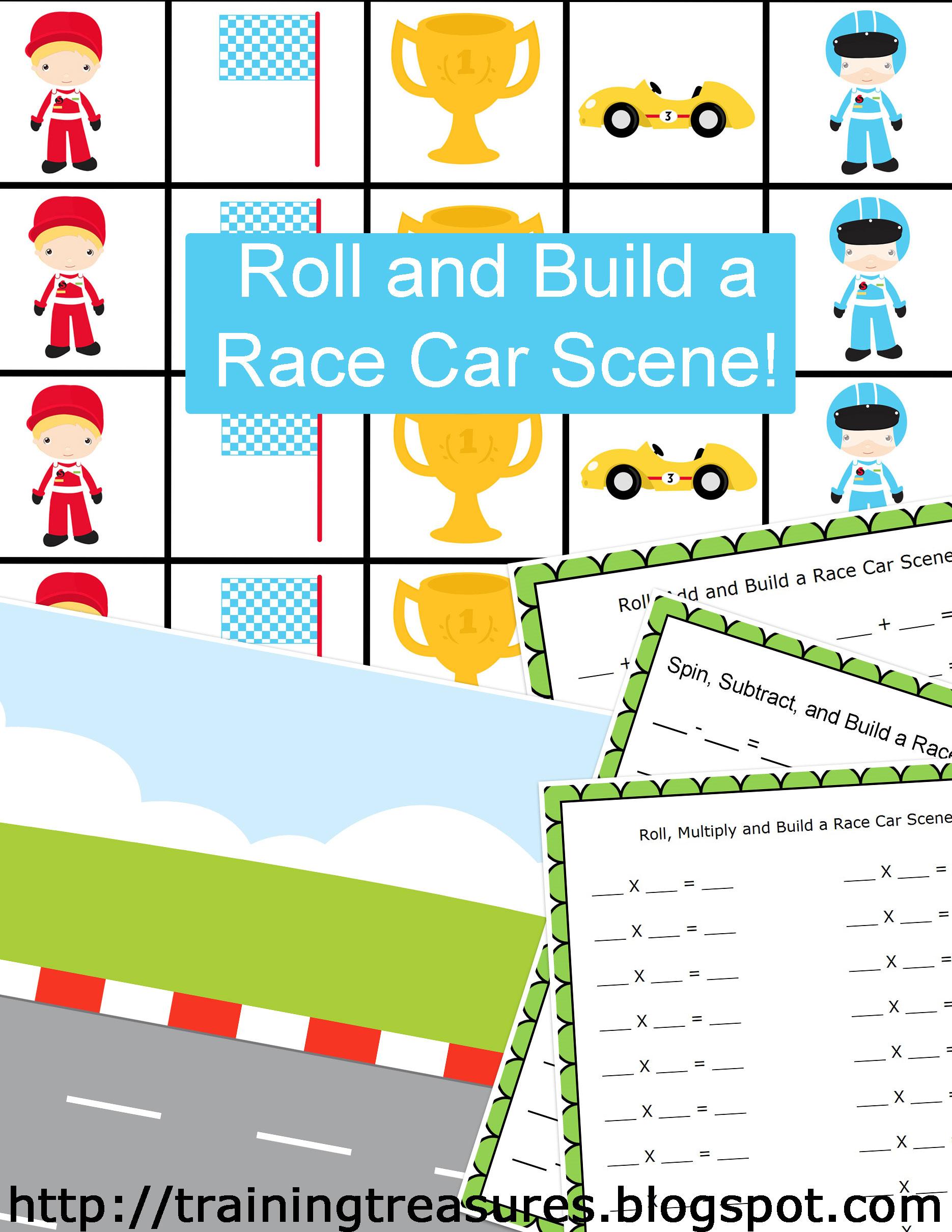 Free Math Race Car Game